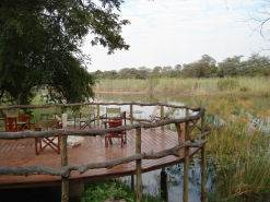 View at Kwando Camp